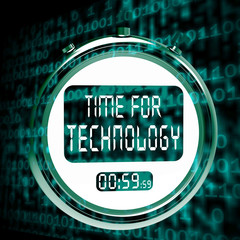 Technology Watch Touch Screen Shows Innovation Improvement And H