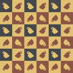 Espresso cup seamless pattern