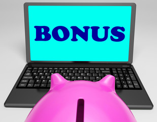 Bonus Laptop Means Perk Benefit Or Dividends