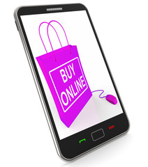 Buy Online Phone Shows Internet Availability for Buying and Sale