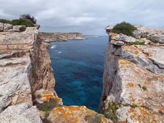 Mallorca - Steilküste bei Santanyí