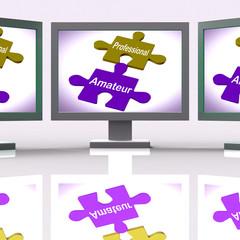 Professional Amateur Puzzle Online Shows Expert And Apprentice