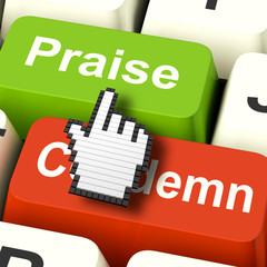Appreciate Praise Computer Means Appreciating or Great