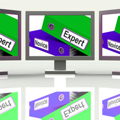 Expert Novice Screen Mean Learner And Advanced