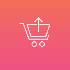 Shopping cart remove - Finely crafted line icons