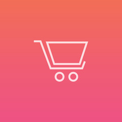 Shopping cart - Finely crafted line icons