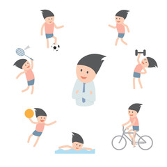 The Choice of Sports for better health.