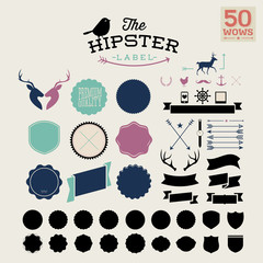 50 hipster label! wow!