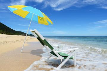 美しい南国のビーチ