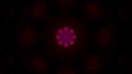 Soft Subtle Retro Red VJ Looping Animated Background