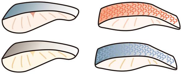 白身魚の切身