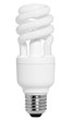 energiesparlampe incl. clipping path