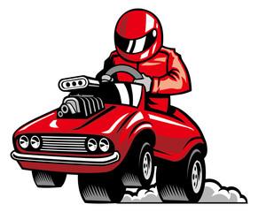 muscle car race