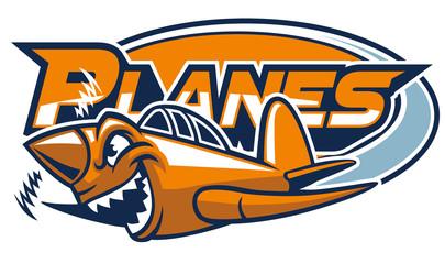 plane mascot