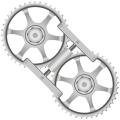 Tool locking gears