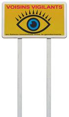 affichage pancarte voisins vigilants