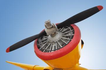 Old fighter plane