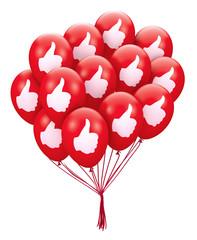 thumb balloon
