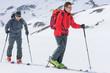 Skitour zu zweit