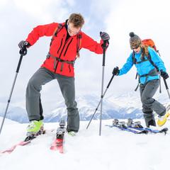 auf geht's zur Skitour