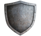 metal shield isolated - 69069412