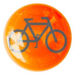 vélo sur bouton
