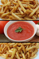 Frites à Volonté -  Sauce Ketchup
