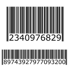 Illustration of a Lined Bar Code
