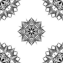 Sun Flower Geometric Pattern