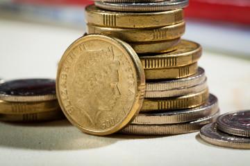 Australian coins, Soft focus, shallow DOF