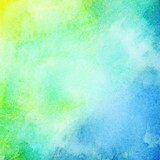 Fototapety Abstract colorful bright watercolor background