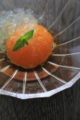 Japanese orange compote