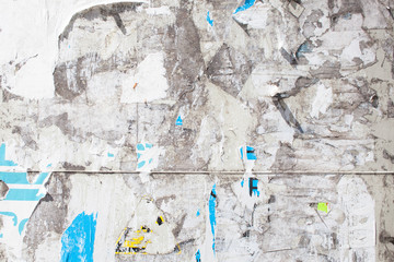 torn paper poster board