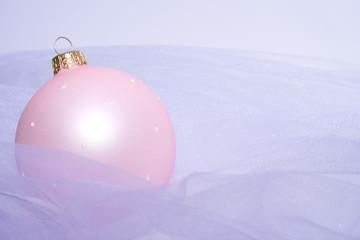 Christmas balls on beads