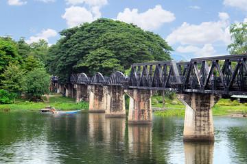Bridge on the river Kwai, Kanchanaburi, Thailand