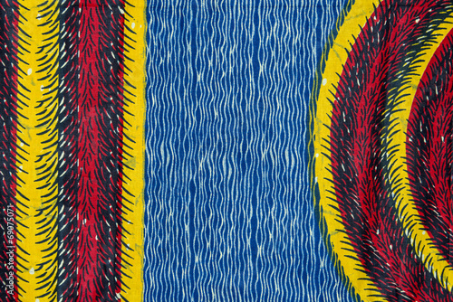 Manufactured African fabric (cotton) - 69075071