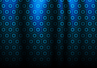 vector hex  materiall blue color for curtains