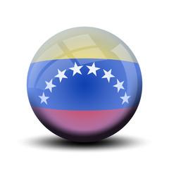 Drapeau en bulle : Venezuela