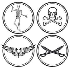 Piraten Zeichen