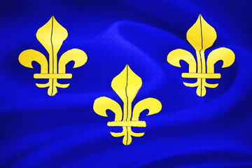 Old french flag