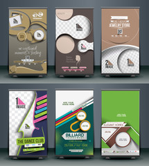 Mega Collection of Roll Up Banner Design