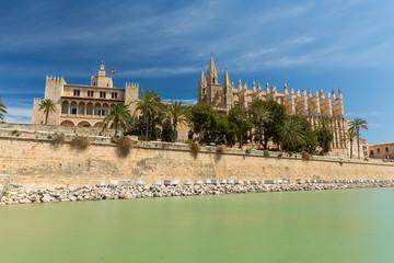 La Seu the cathedral of Palma de Mallorca, Spain