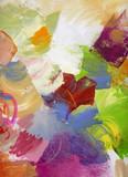 Fototapety malerei-texturen auf leinwand