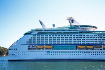 Aft of Luxury Cruise Ship