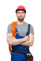 freundlicher Arbeiter/Mechaniker/Monteur/Bauarbeiter