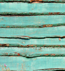 blue old plank wood texture background.