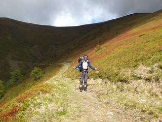 По горным тропам с рюкзаком