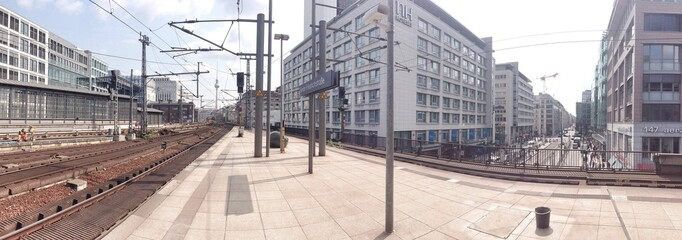 Panorama Berlin Friedrichstraße