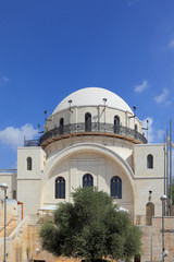 The restored Hurva Synagogue