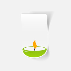 realistic design element: lamp
